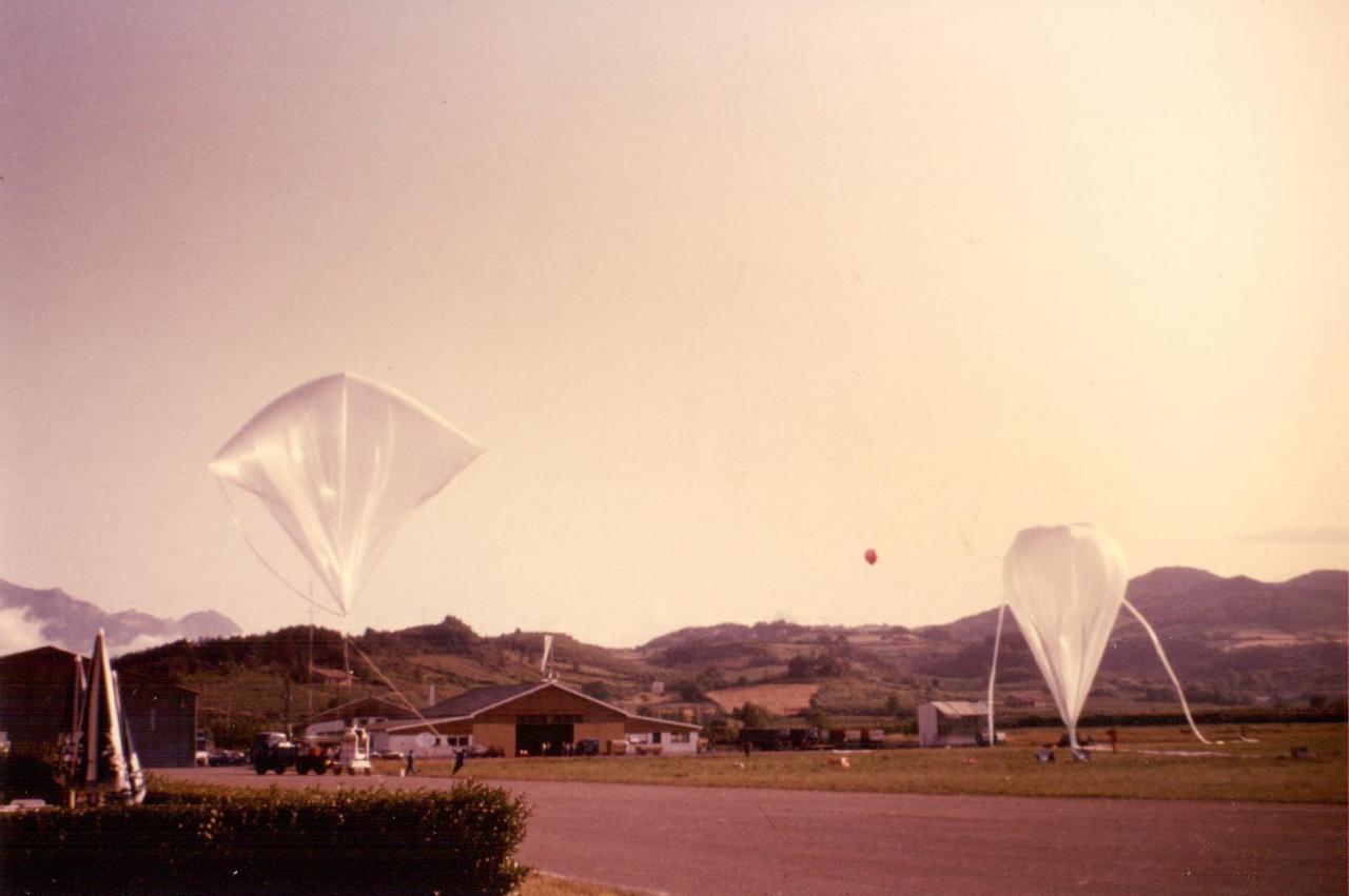 Ballons du CNES en 1983