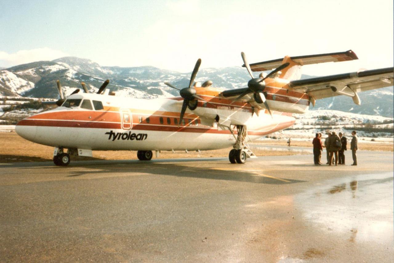 Dash 7 Autriche