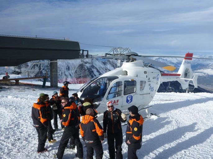 Hélicoptère SAF aux Orres 03