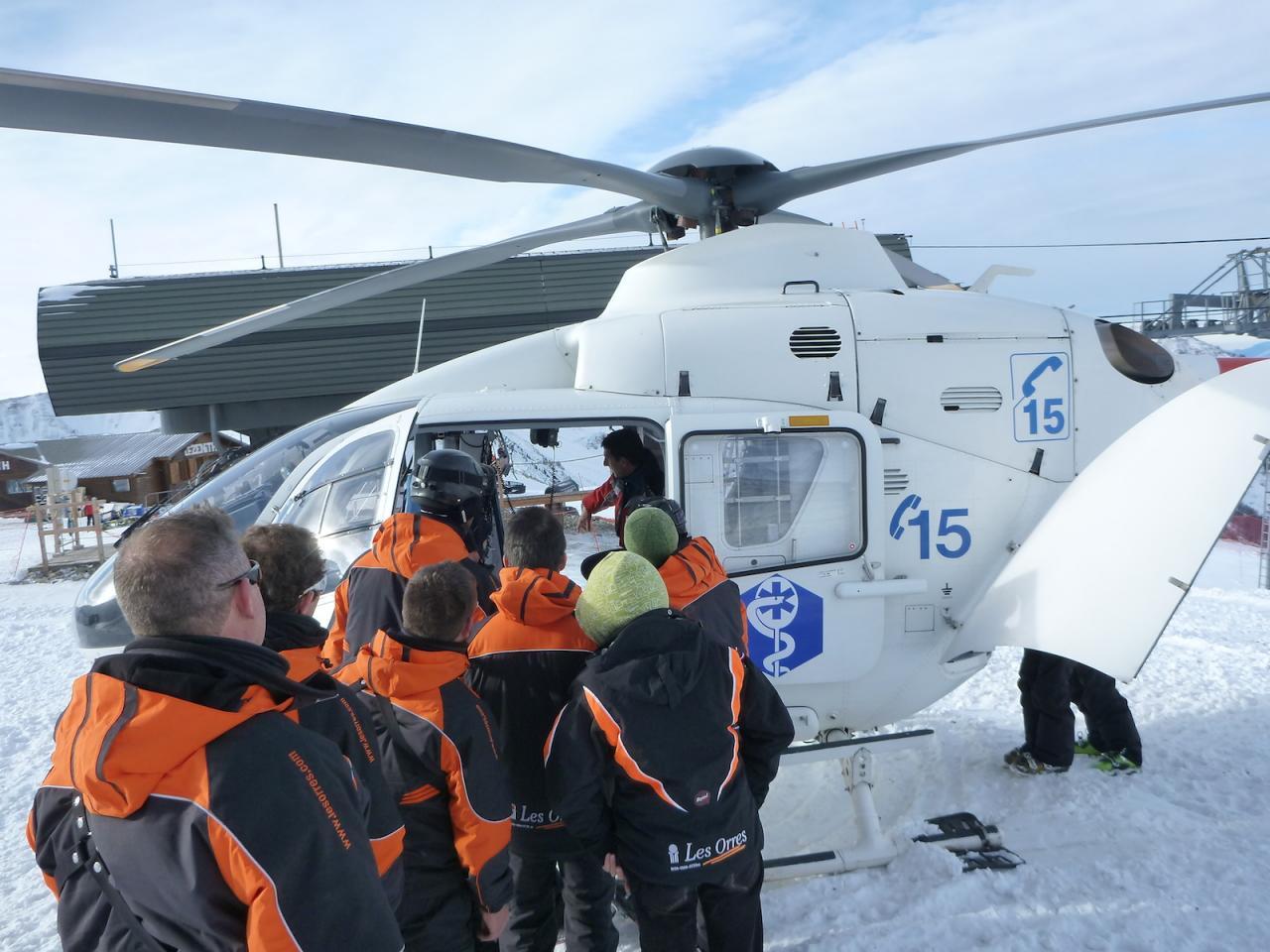 Hélicoptère SAF aux Orres 05