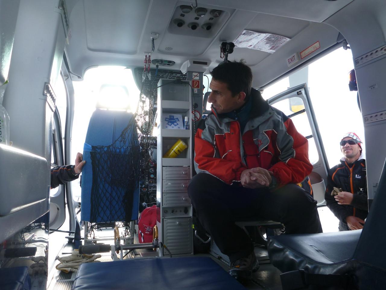 Hélicoptère SAF aux Orres 08