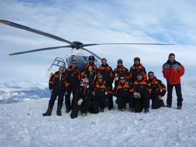 Hélicoptère SAF aux Orres 10