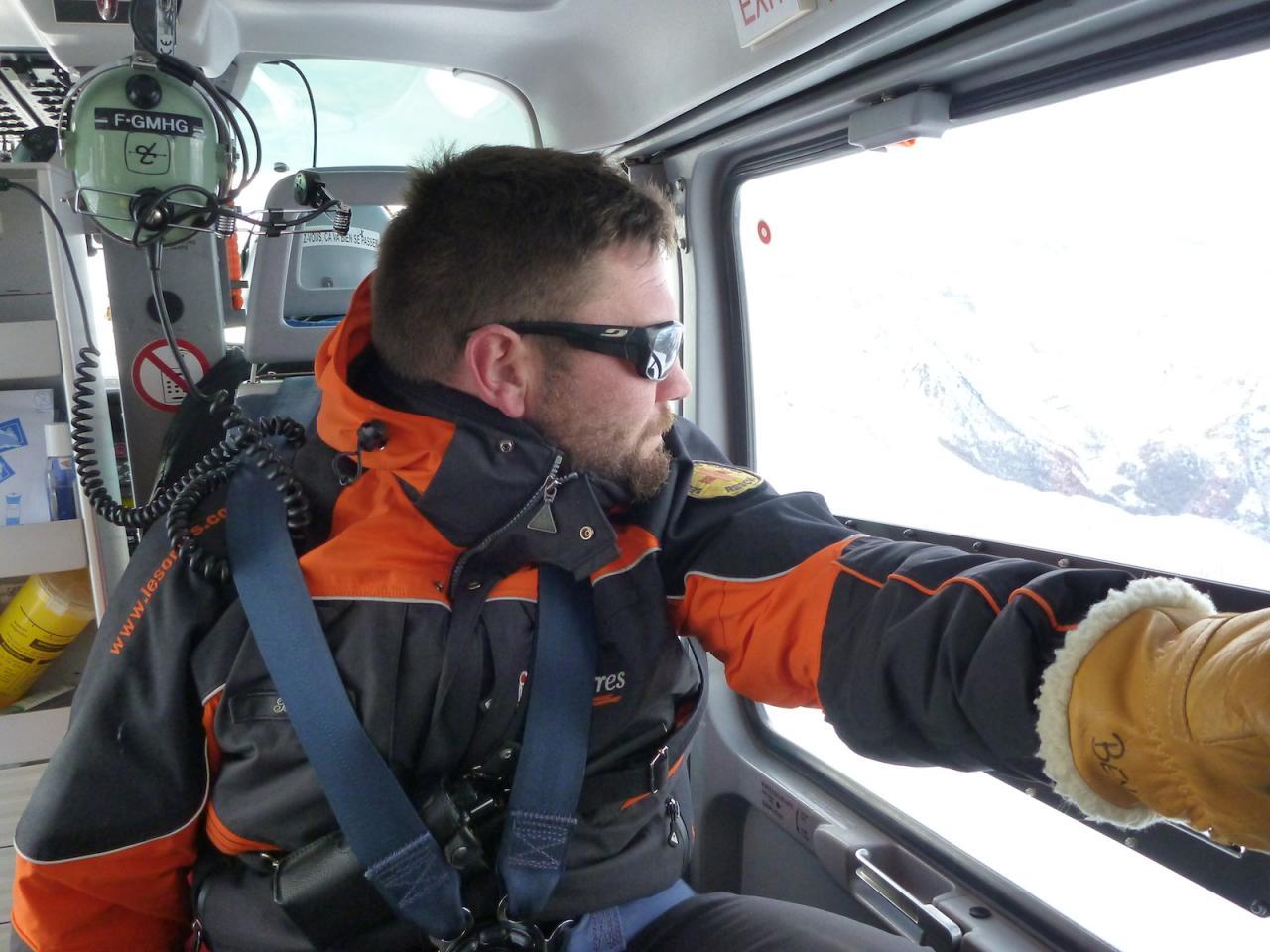 Hélicoptère SAF aux Orres 15
