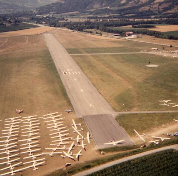 Vol à Voile en Juillet 1986