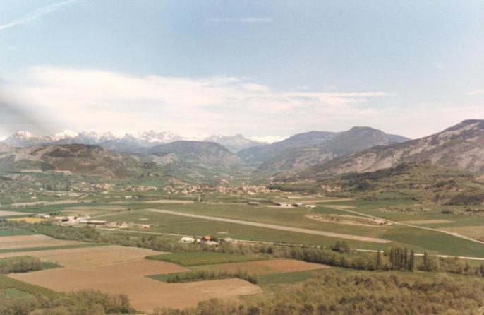 vue Aérodrome mai 1988