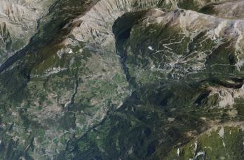 Site de parapente du Méale (Cliquer sur l'image pour l'agrandir)