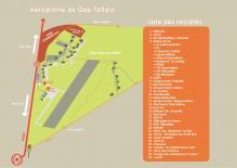 Plan de l'aérodrome de Gap-Tallard