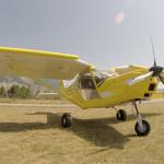 ULM multiaxes sur l'aérodrome d'Aspres (Cliquer pour agrandir)